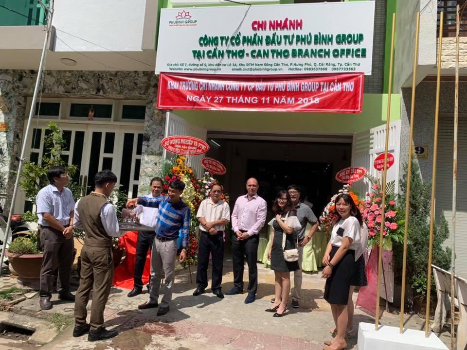 Phú Bình Group khai trương chi nhánh Cần Thơ - Tiếp tục mở rộng thị trường phía Nam