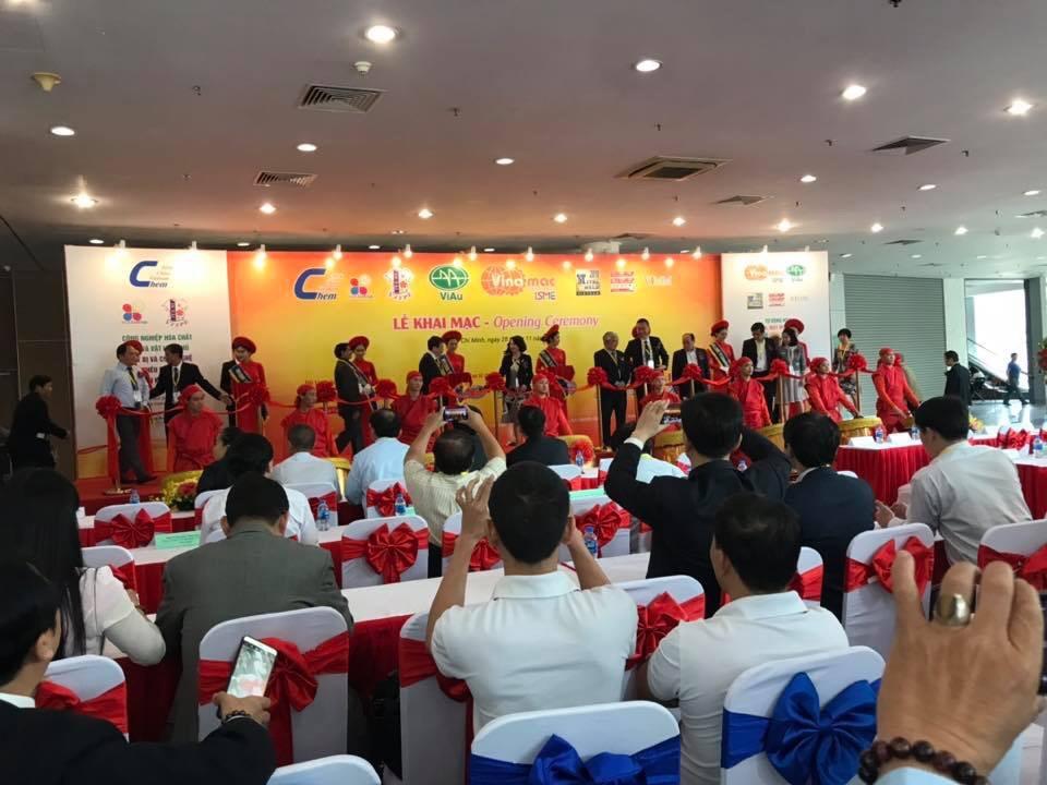 Phú Bình Group tham quan Triển lãm Vinachem Expo 2018