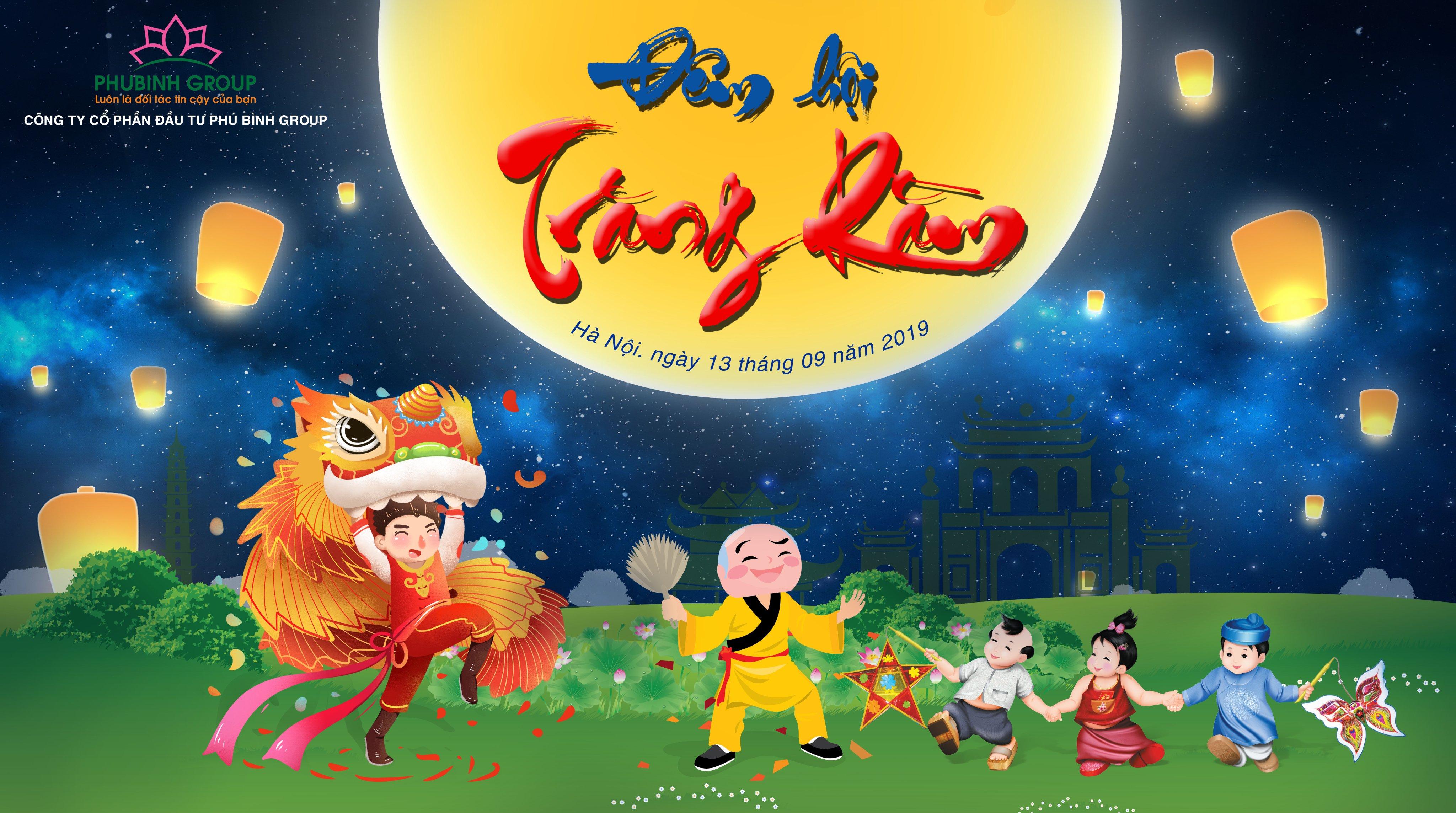 Háo hức vui đón Trung thu cùng Phú Bình Group