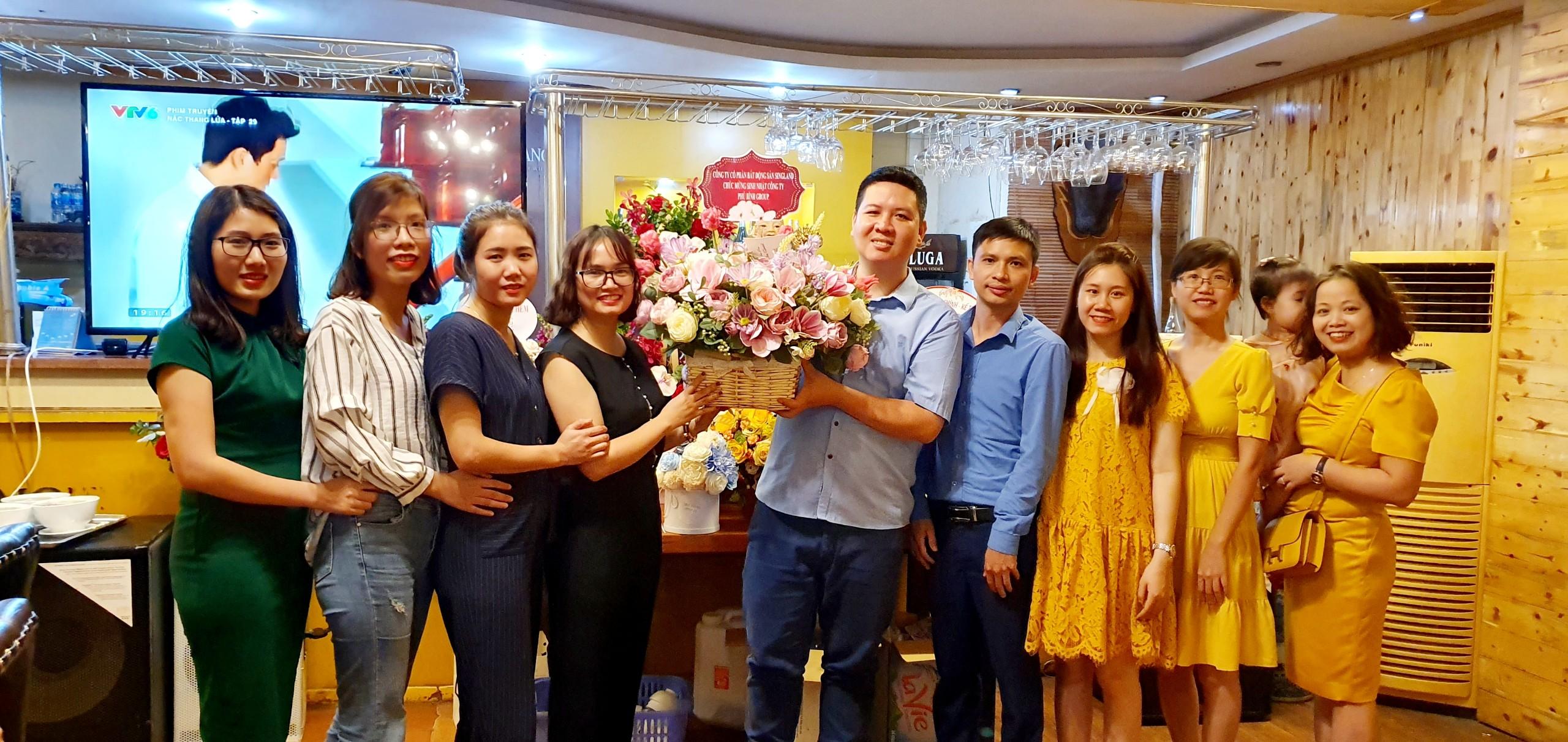 Phú Bình Group hân hoan đón sinh nhật tròn 10 năm tuổi