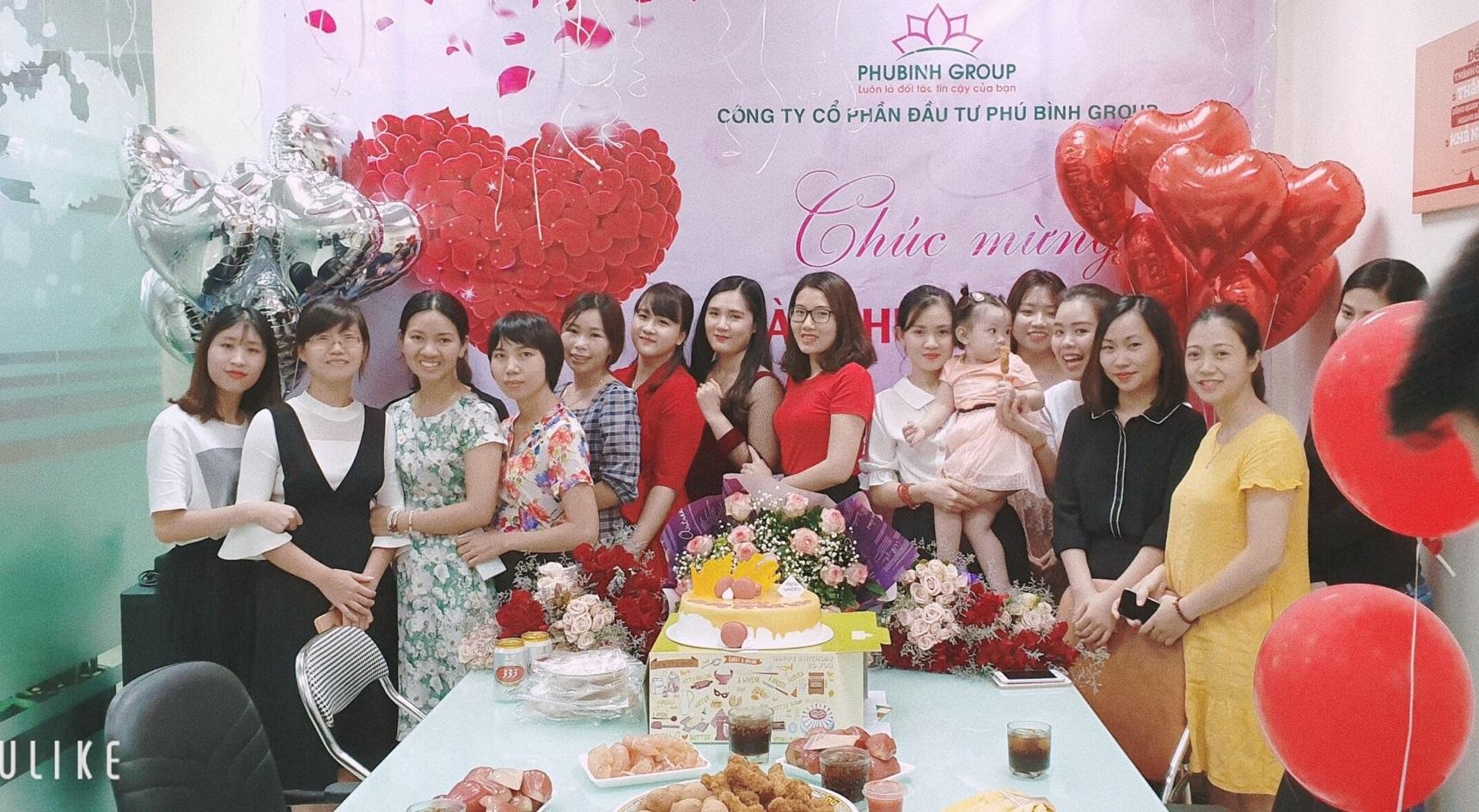Phú Bình Group chào mừng ngày phụ nữ Việt Nam 20/10