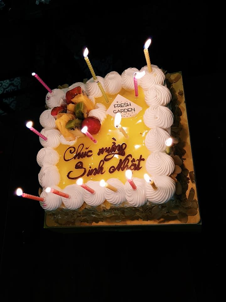 Chiếc bánh sinh nhật xinh xắn dành tặng sinh nhật CBNV Qúy II